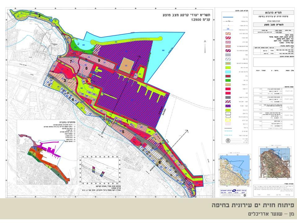 הדמיות טיוטת תכנית קמפוס הנמל - עיריית חיפה - ספט' 2019 - ב.ברוך אדריכלים