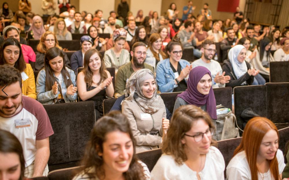 """תכנית """"שגרירי רוטשילד"""" בכנס חגיגי בחיפה (צילום: ריקי רייכמן)"""