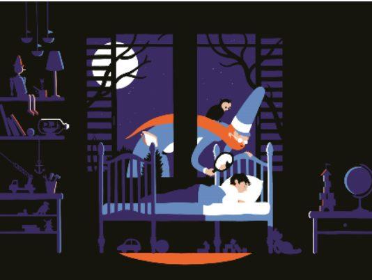 סדנת מנורת לילה מסתורית (צילום: מרכז אמנויות, מוזיאון חיפה לאמנות)