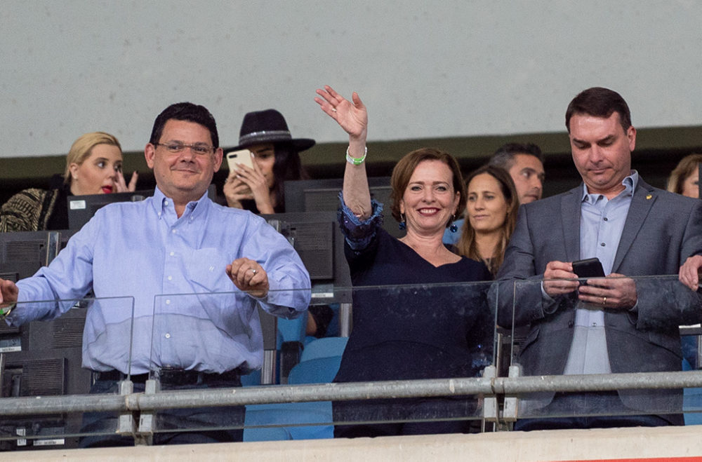 """ראש עיריית חיפה, ד""""ר עינת קליש-רותם צפתה במשחק מהיציע (צילום: ירון כרמי)"""
