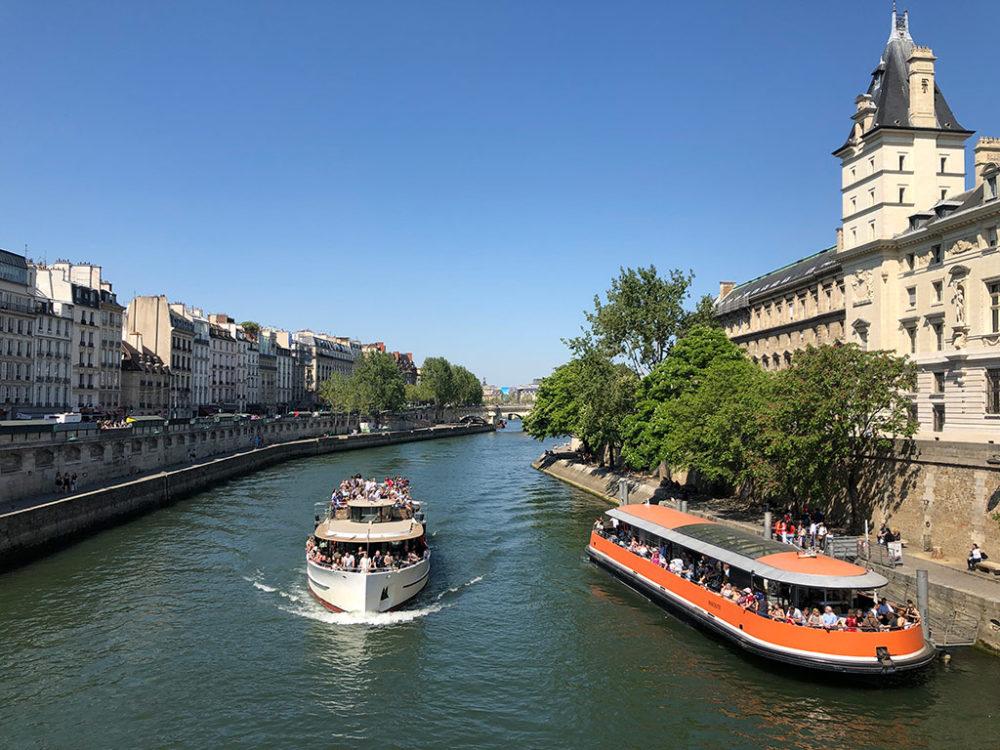 נהר הסיין חוצה את פריז (צילום: ירון כרמי)
