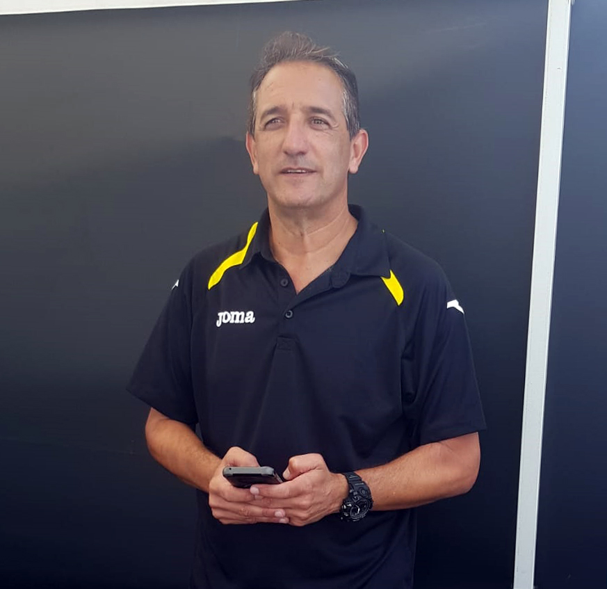 יוסי צרפתי, סגן מנהל אגף הספורט בעיריית חיפה (צילום: מאיה שפירר-אבני)