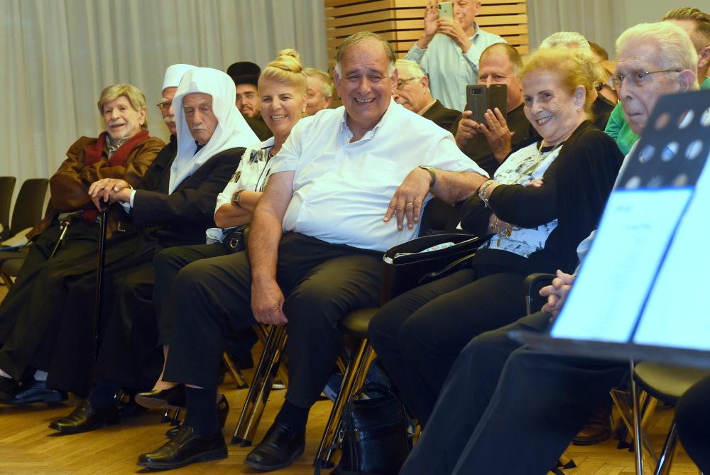 50 שנה לזיכרו של אבא חושי זל (צילום יוסף הירש)