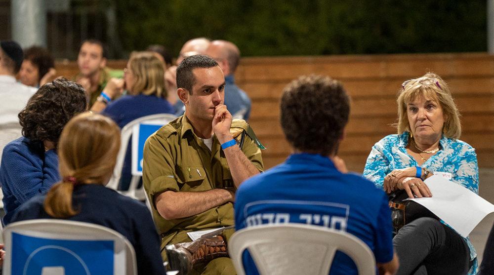 מעגלי שיח בחיפה • ארגון אסיפה ישראלית (צילום: ירון כרמי)