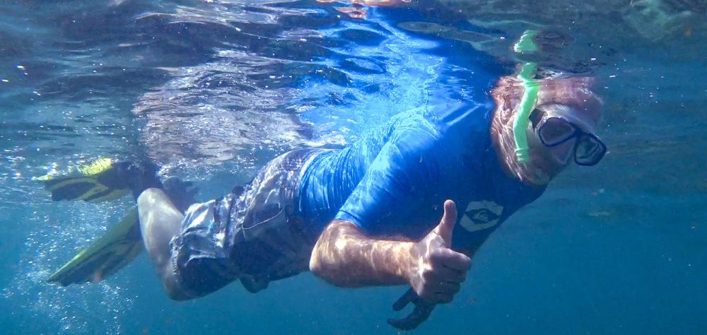 אביהו האן • הפנינג צלילה בבת גלים (צילום: ירון כרמי)
