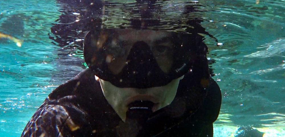 ירון כרמי - סלפי שנורקלינג • הפנינג צלילה בבת גלים (צילום: ירון כרמי)