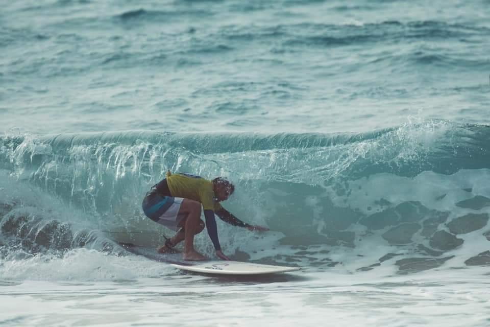 תחרות גלישת גלים לונגבורד בחיפה (צילום: יעל ליאצקי)