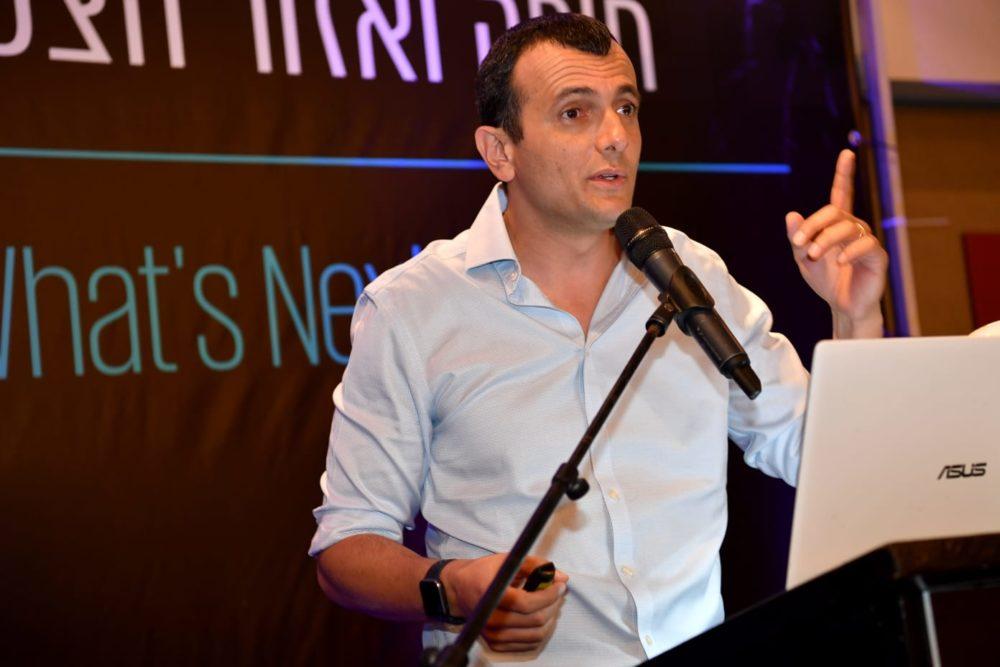 """שי באב""""ד מנכ""""ל משרד האוצר, בוועידה הכלכלית השנתית של חיפה והצפון (צילום: פאול אורלייב)"""