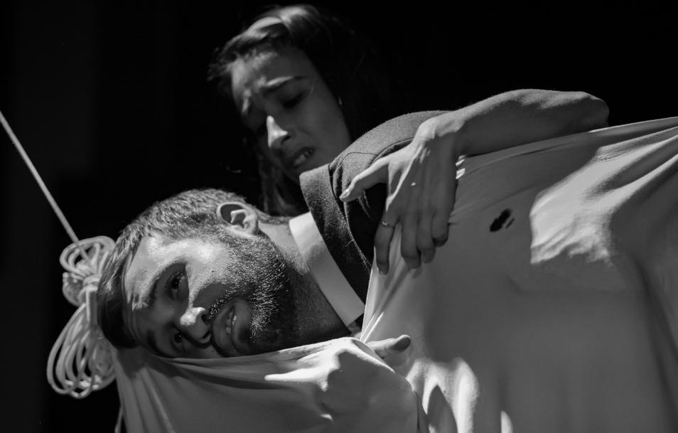 """ההצגה """"מי מפחד מווירג'יניה וולף?"""" (צילום: תאטרון הסטודיו חיפה)"""