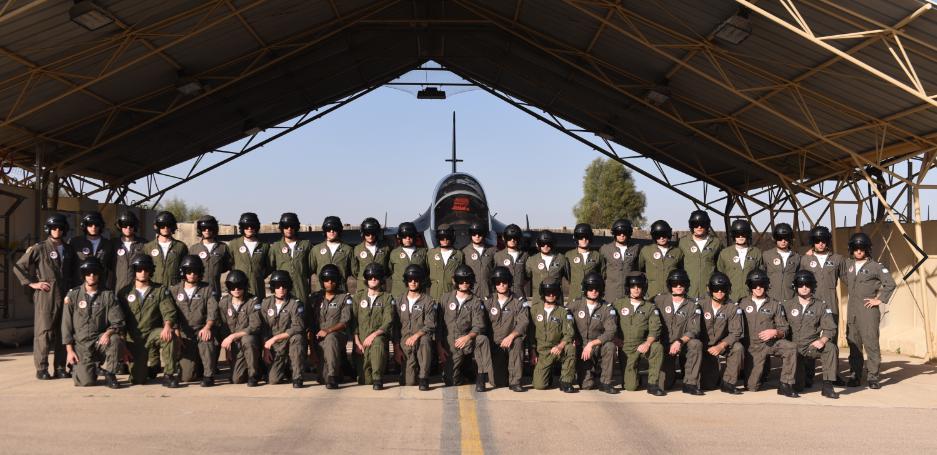 """בוגרי קורס טיס מחזור 179 (צילום: דובר צה""""ל)"""