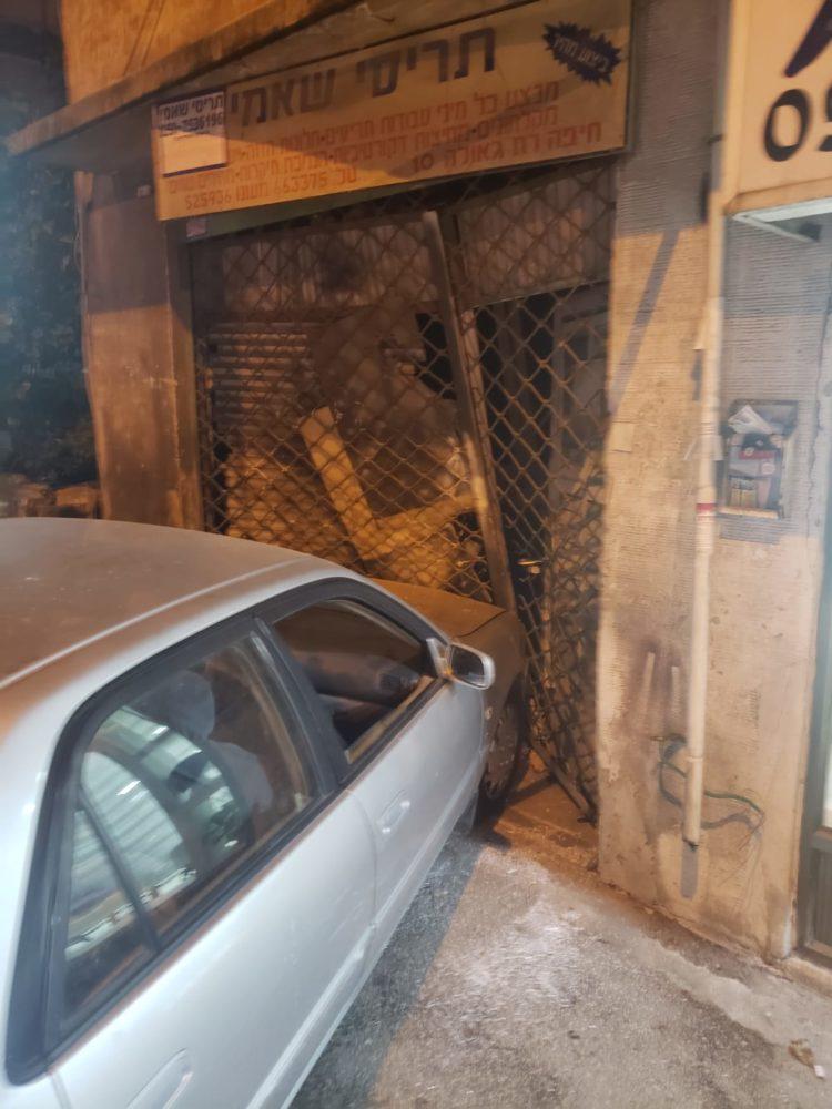 תאונת דרכים ברחוב גאולה בחיפה
