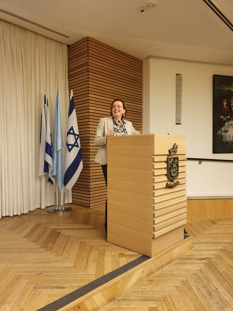 """ראש העיר חיפה, ד""""ר עינת קליש רותם (צילום: נעמה לזימי)"""