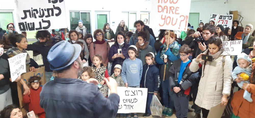קבוצת הפעילים, ניטור, (צילום: תמיר הירשברג)