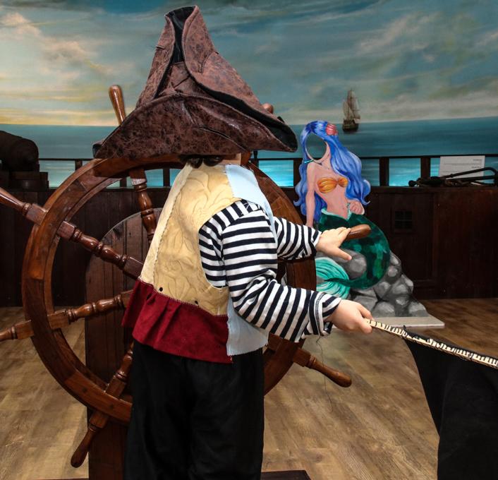 הפנינג פורים במוזיאון הימי הלאומי (צילום: איילת קורן)