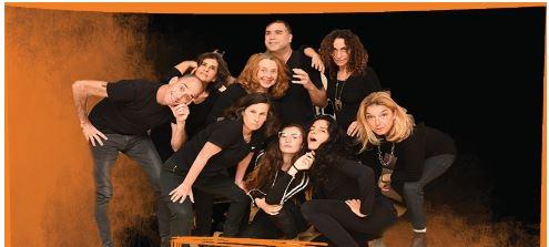 """""""לשם שינוי"""" מופע תאטרון פלייבק (צילום: תאטרון הסטודיו חיפה)"""