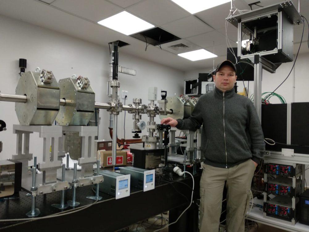 מיכאל גרסימוב (צילום: משרד המדע והטכנולוגיה)