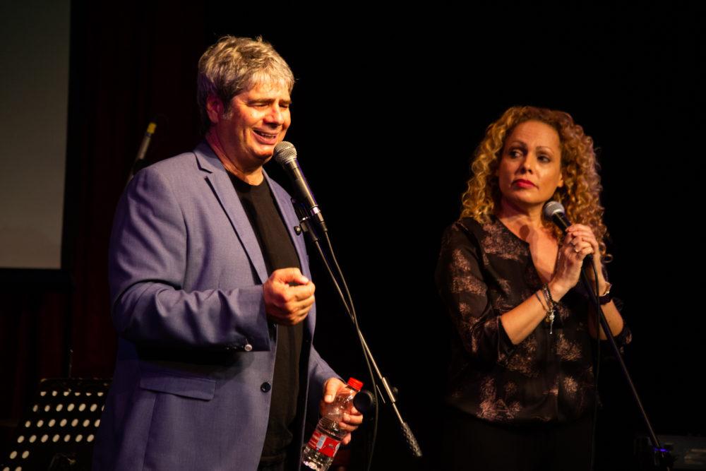 אורלי וילנאי וגיא מרוז בהופעה