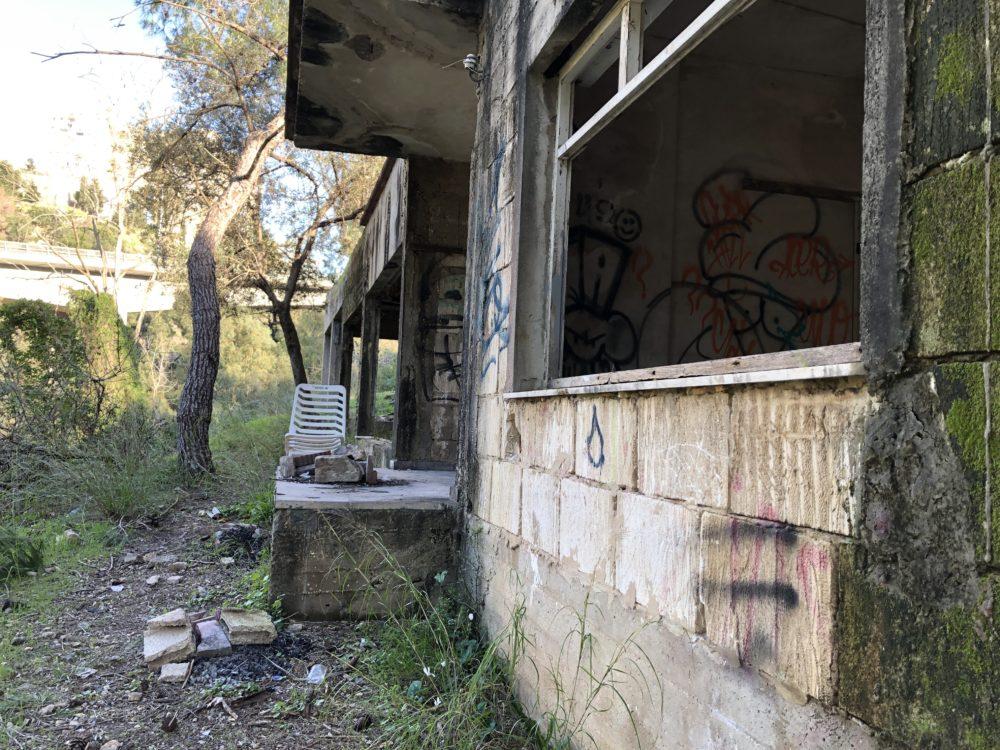 מבנים נטושים • נחל הגיבורים בחיפה (צילום: ירון כרמי)