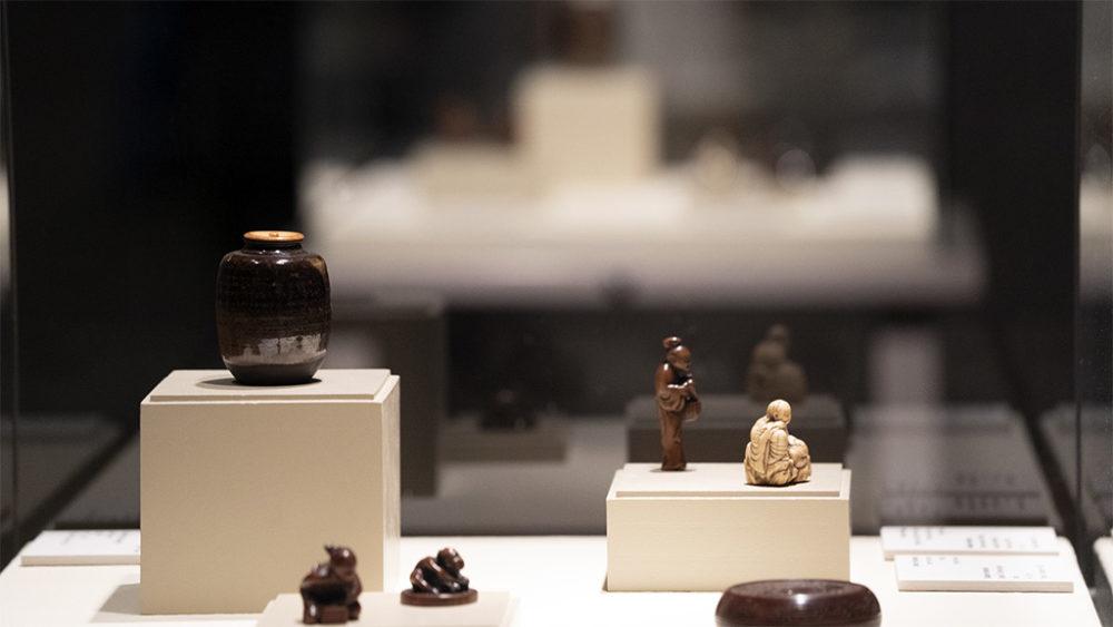 פסלונים יפניים • תערוכות חדשות במוזיאון טיקוטין בחיפה (צילום: ירון כרמי)