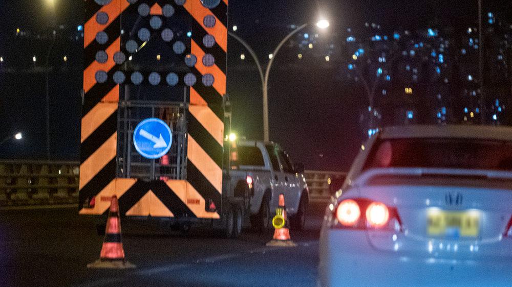 עומס תנועה על כביש 22 - ארכיון (צילום: ירון כרמי)
