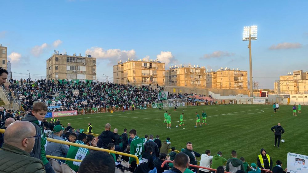 מכבי חיפה מול מ.ס אשדוד (צילום: אורן שוורץ)