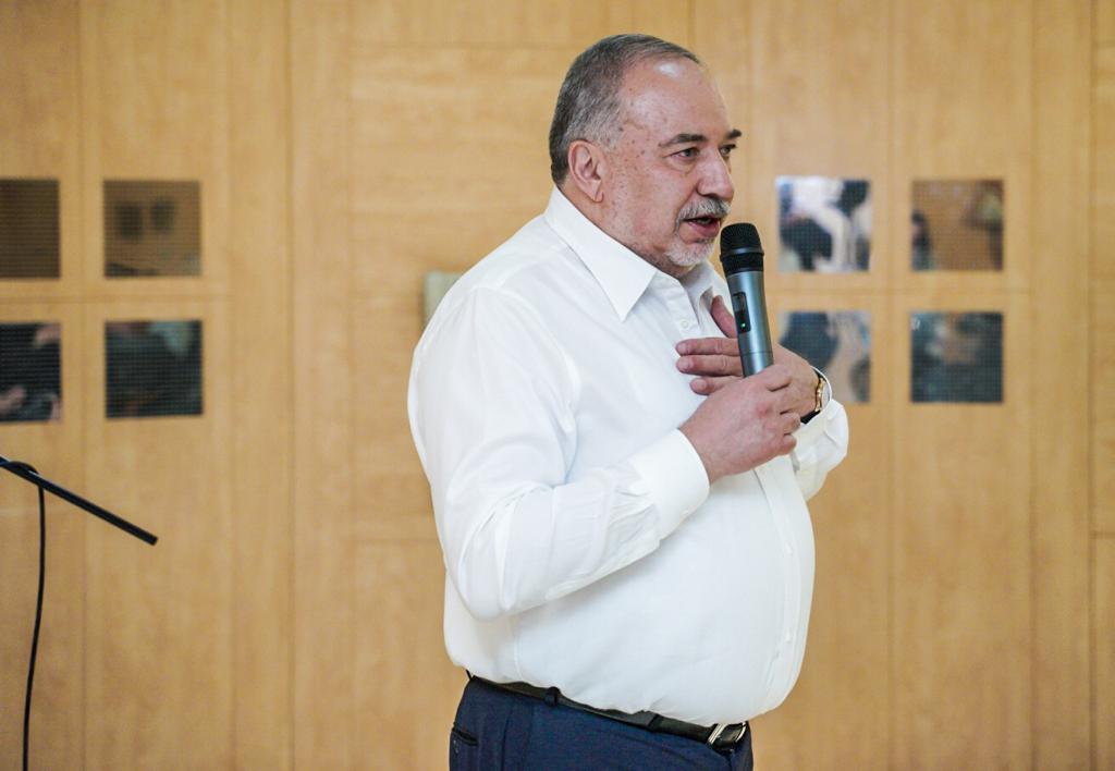 ח״כ אביגדור ליברמן (צילום: מפלגת ישראל ביתנו)