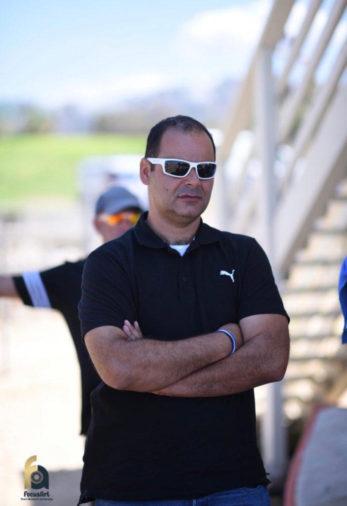 יחיאל אמסלם מנהל אגף החופים (צילום אלבום פרטי)