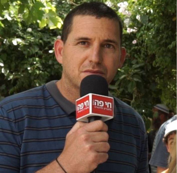 אסיף איזק, ראש המועצה האזורית חוף הכרמל (צילום: ירון כרמי)