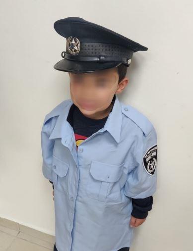 שוטר ליום אחד (צילום: משטרת ישראל)