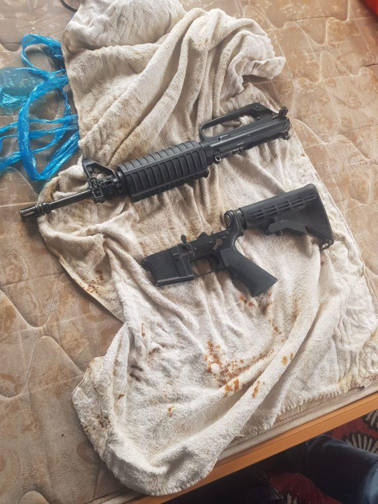 נשק (צילום משטרת ישראל)