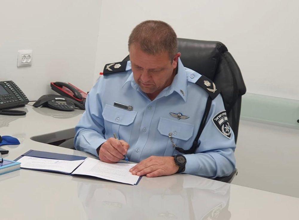 """ניצב מוטי כהן - מ""""מ מפכ""""ל המשטרה (צילום: משטרת ישראל)"""