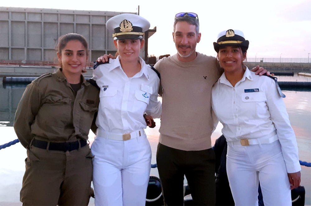 מחזור 140 של קורס חובלים הסתיים בחיפה (צילום: אדיר יזירף)