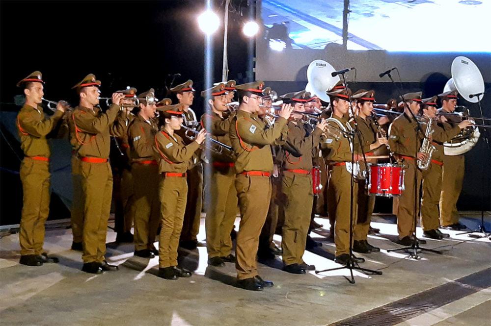"""תזמורת צה""""ל • מחזור 140 של קורס חובלים הסתיים בחיפה (צילום: אדיר יזירף)"""