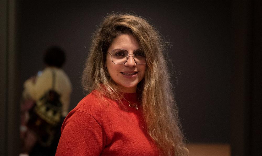 יפעת שטרן-לוי - מנהלת השיווק של מוזיאוני חיפה (צילום: ירון כרמי)