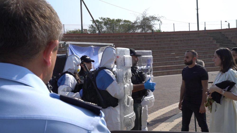 קורונה - היערכות לסגר מלא (צילום: משטרת ישראל)
