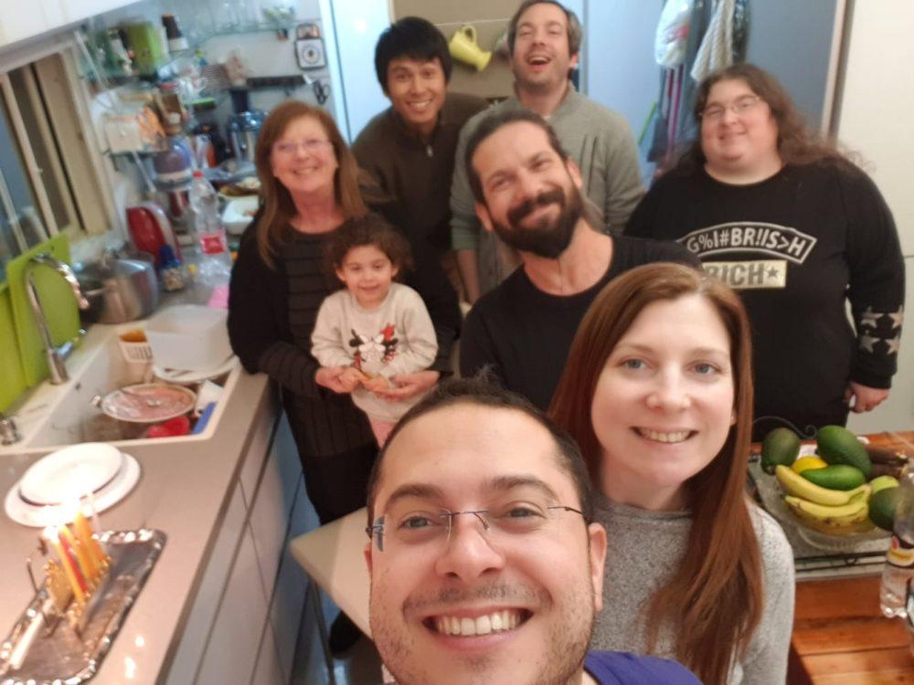 משפחת שוורץ (צילום אלבום אישי)