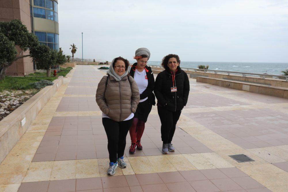 'הליכות מנטורינג' בחיפה (צילום: נגה כרמי)