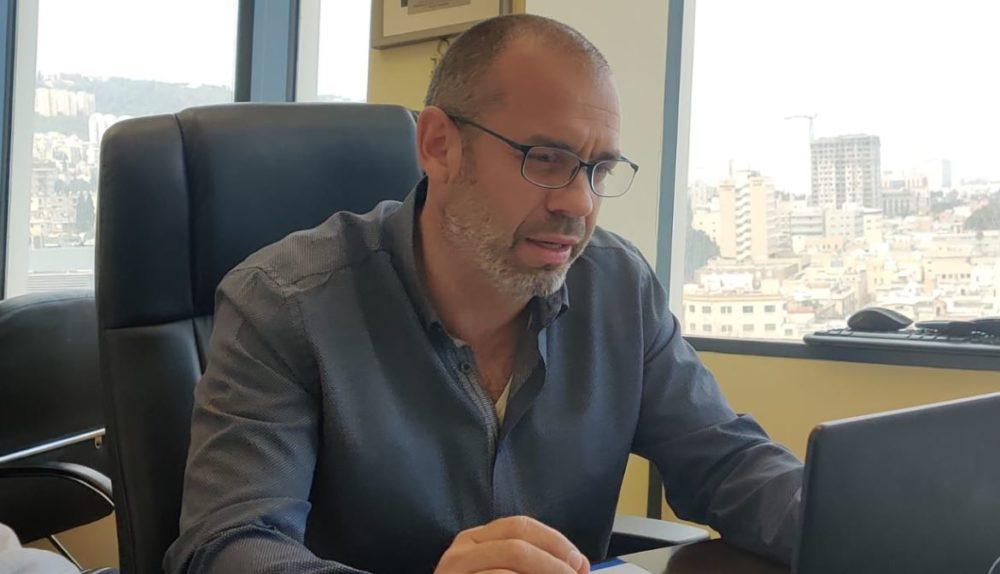 """ד""""ר סער הראל, מנהל מחוז חיפה בוחן את הלמידה מרחוק"""