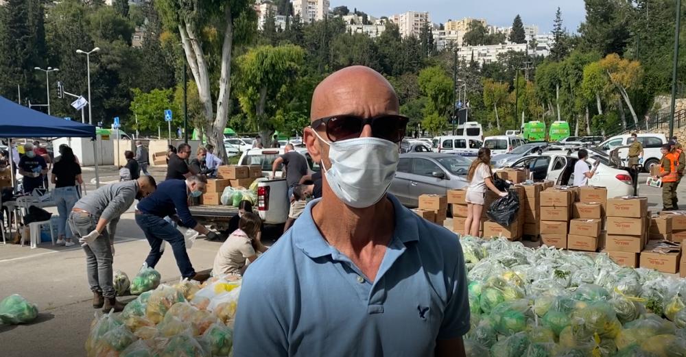 ניר שאול - מנהל אגף הספורט בחיפה (צילום: אקי פלקסר)