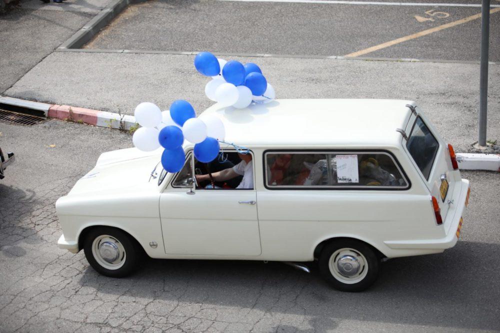 רכב אספנות יום עצמאות 72 לחיפה (צילום: דב חיון)