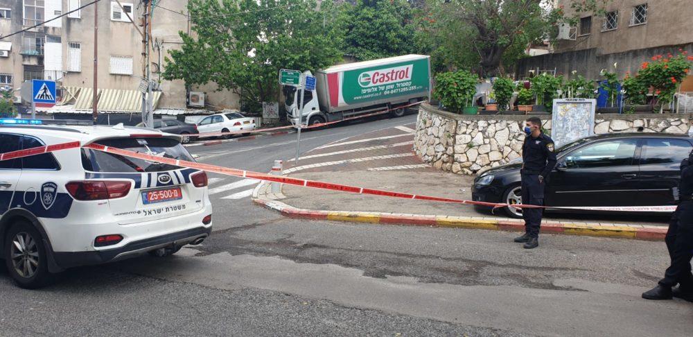 ירי ברחוב הגיבורים(צילום: משטרת ישראל)