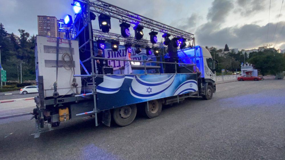 משאיות שמחה (צילום: עיריית חיפה)