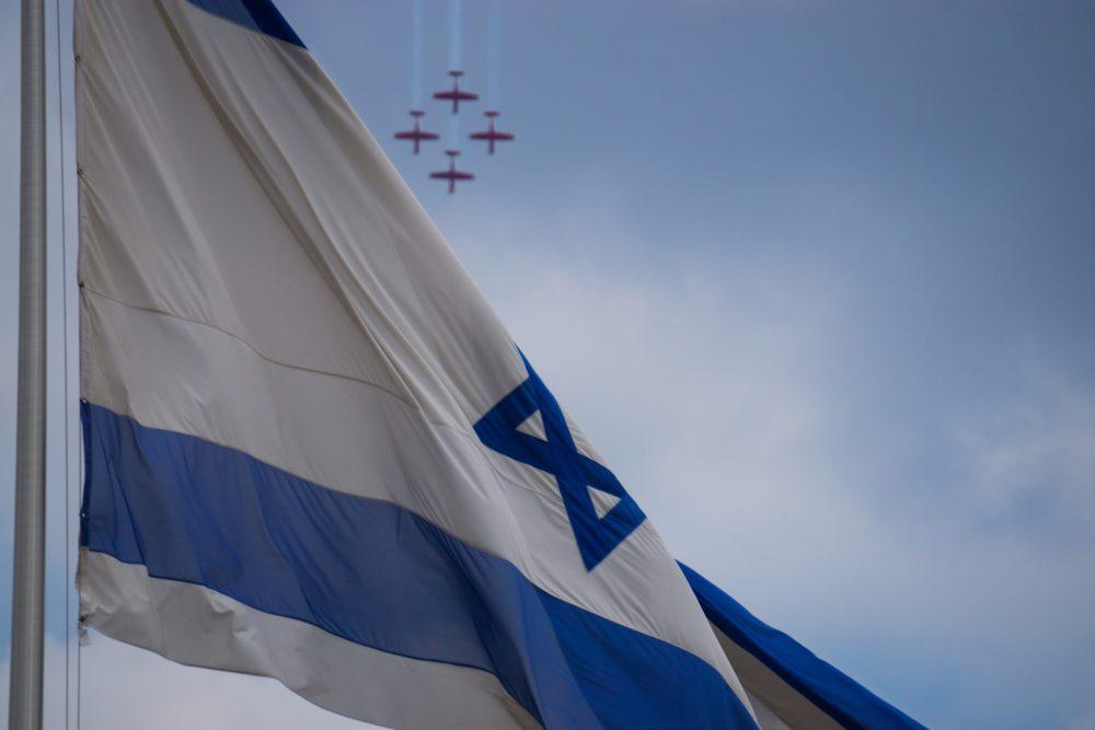 מטס חיל האוויר בחיפה - יום העצמאות - 29/4/20 (צילום: אסף בן-אברהם)