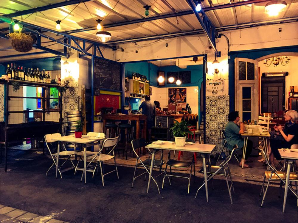 מסעדת תלפיות של אילן פרון (צילום: אילן פרון)