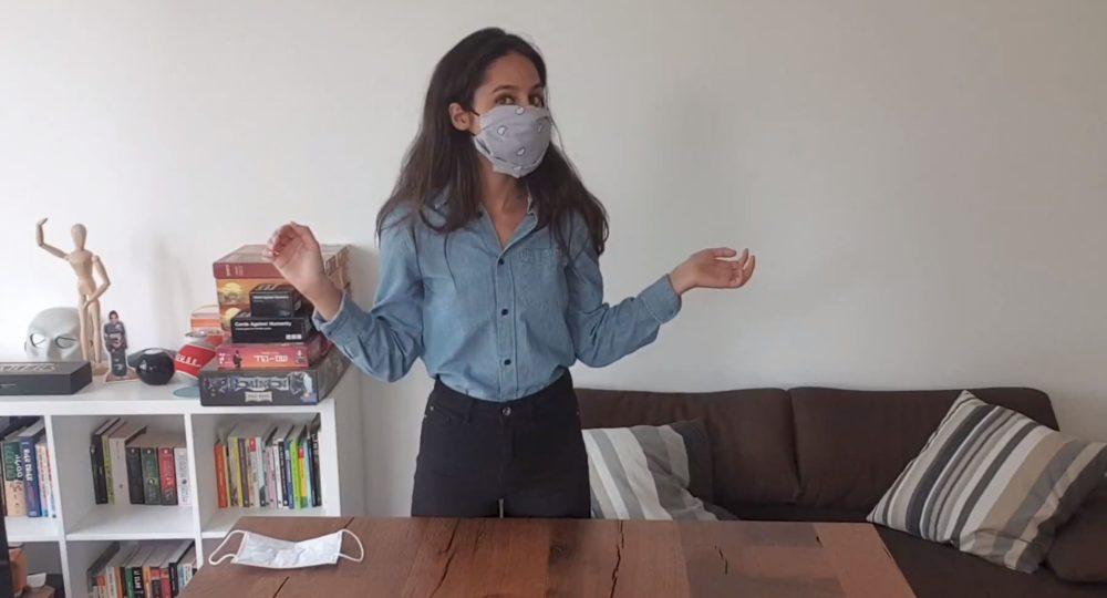 הכנת מסיכה לפנים בבית - הנחיות משרד הבריאות