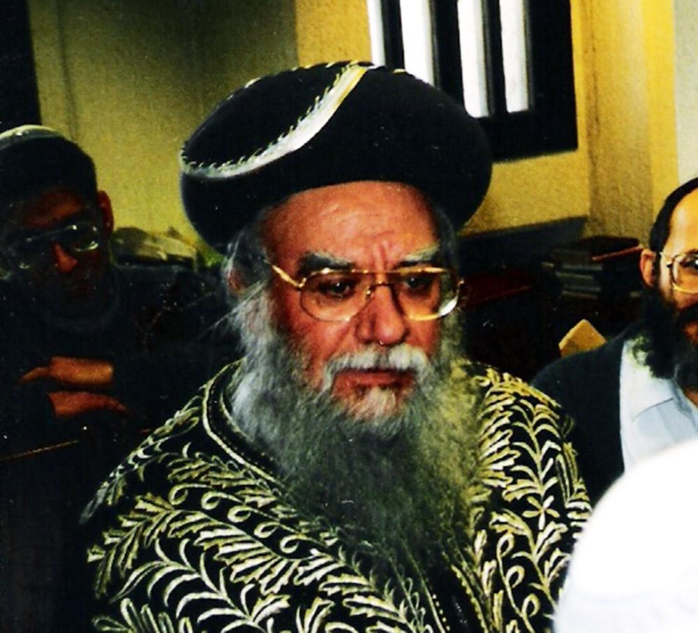 הרב אליהו בקשי דורון (צילום: מיכאלי - ויקיפדיה)