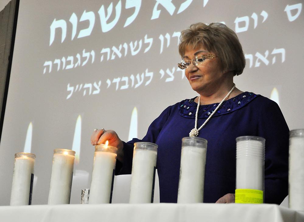 הלינה פרידמן בטקס יום הזיכרון (אלבום פרטי)
