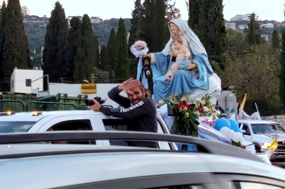 תהלוכת מריה הקדושה 101 (צילום: סאלי חנא נחאס)