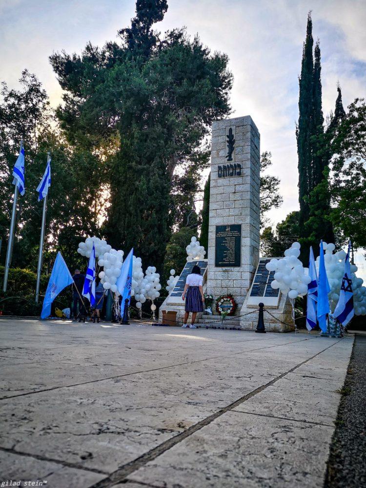 אנדרטה נווה שאנן (צילום: גלעד שטיין)