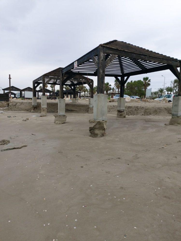 חוף קריית חיים לפני - צילום - דב צביאלי, המשרד להגנת הסביבה